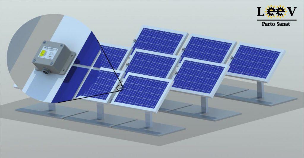 کاربرد سنسور زاویه در سلول های خورشیدی